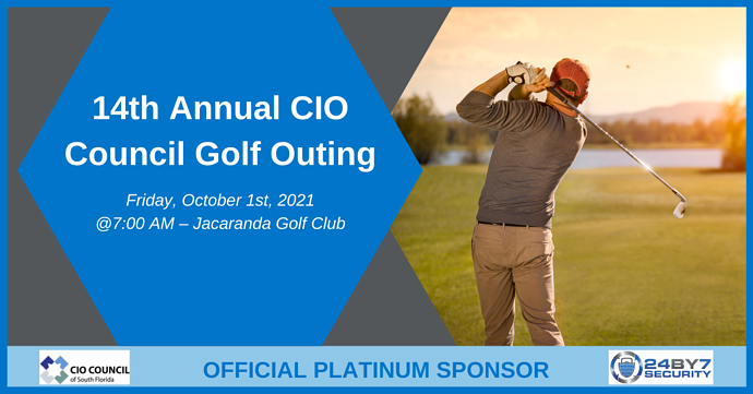 14th Annual CIO Council Golf Outing Graphic