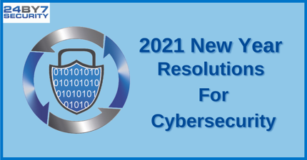 4 Important Cybersecurity Resolutions to Make for 2021 Graphic
