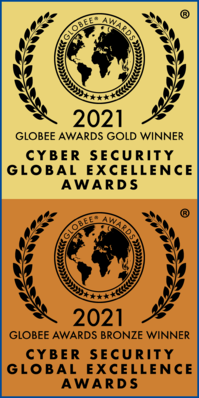 Award Logo - Cybersecurity Global Excellence - Gold & Bronze