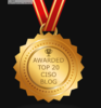 Badge - top 20 ciso blogs - 24by7security