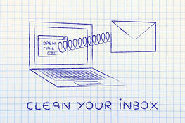 Clean your inbox - clean out your computer- 24By7Security
