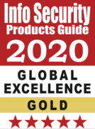 InfoSec Gold award  2020 HIPAA Compliance 24By7Security