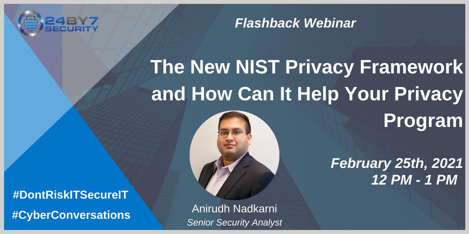 New NIST Privacy Framework, Web-1