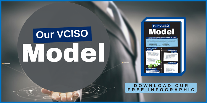 Our VCISO Model Marketing Graphic