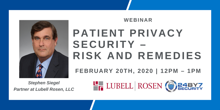 Patient Privacy Security – Risk and Remedies