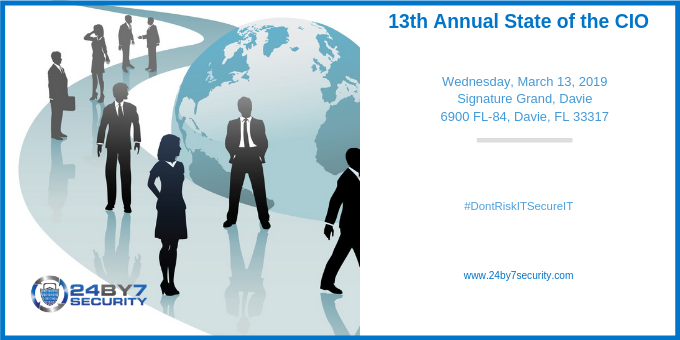 13th Annual State of the CIO 24By7Security-1