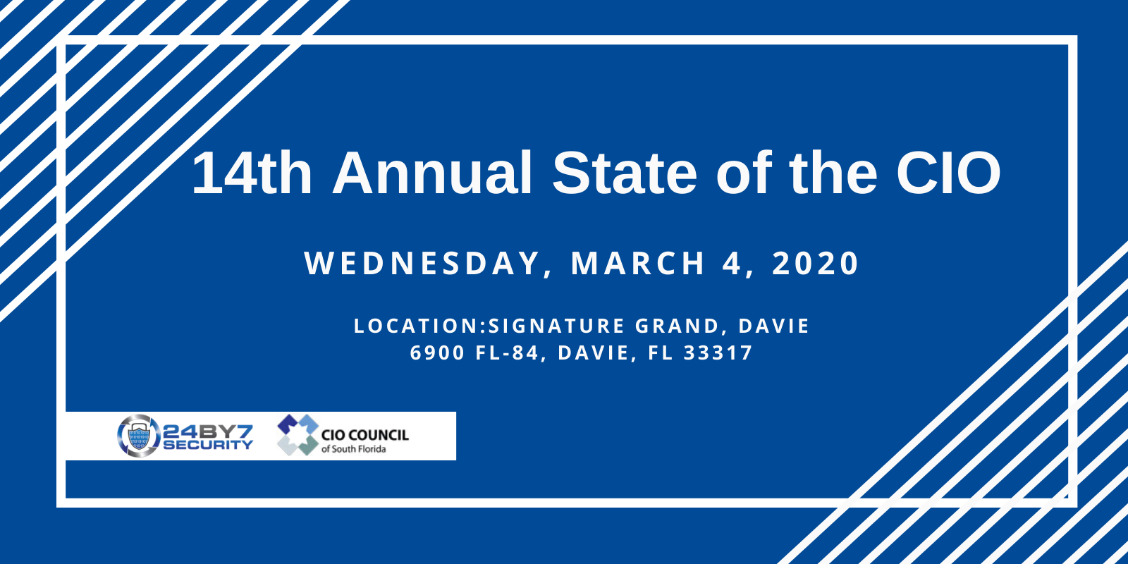 14th Annual State of the CIO Mar2020