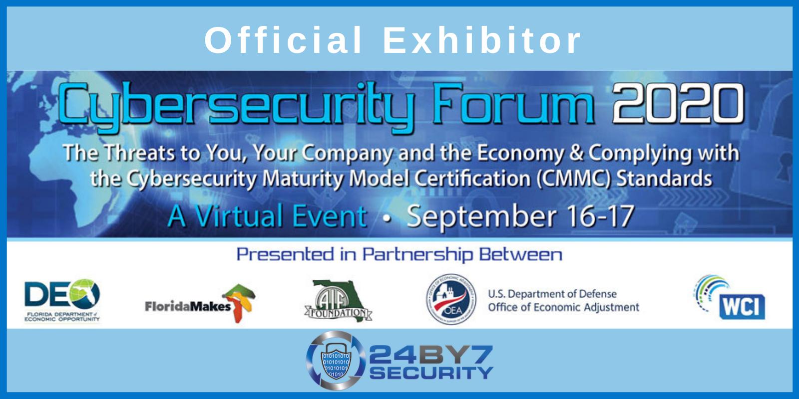 2020 Cybersecurity Forum Virtual Sept