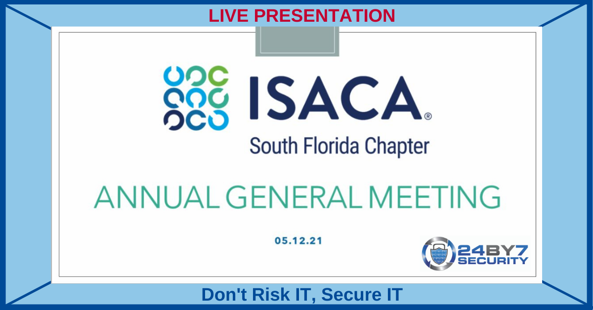 2021 ISACA Annual General Meeting GRAPHIC