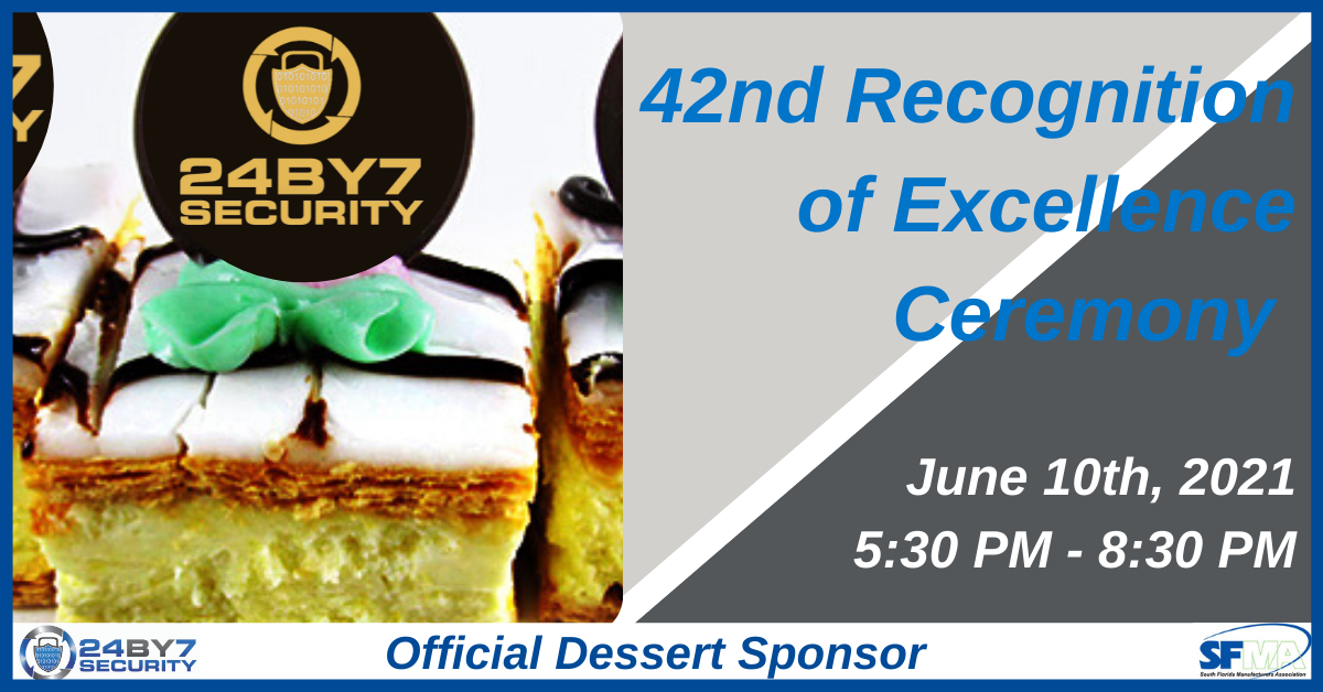 42nd Recognition of Excellence Ceremony Graphic UPDATE