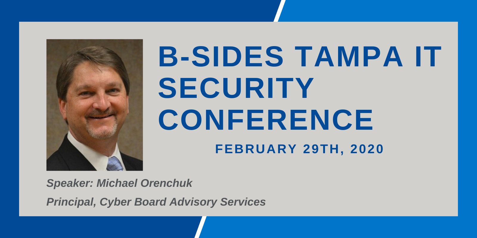 B-Sides Tampa IT Security Conference Feb2020