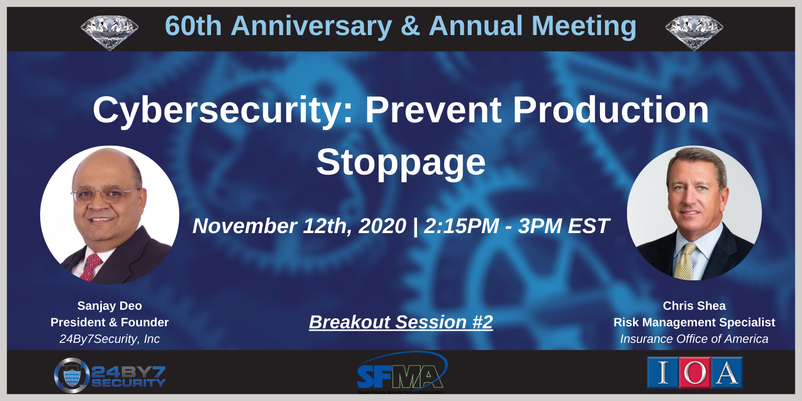 Cybersecurity Prevent Production Stoppage