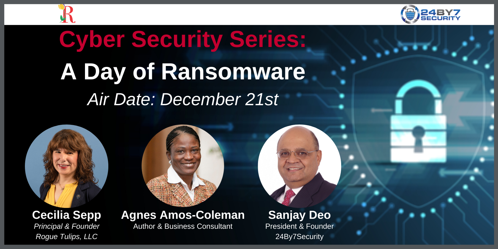 Cybersecurity Series Ransomware