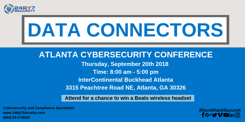 Data Connectors-Atlanta-Event-24By7Security