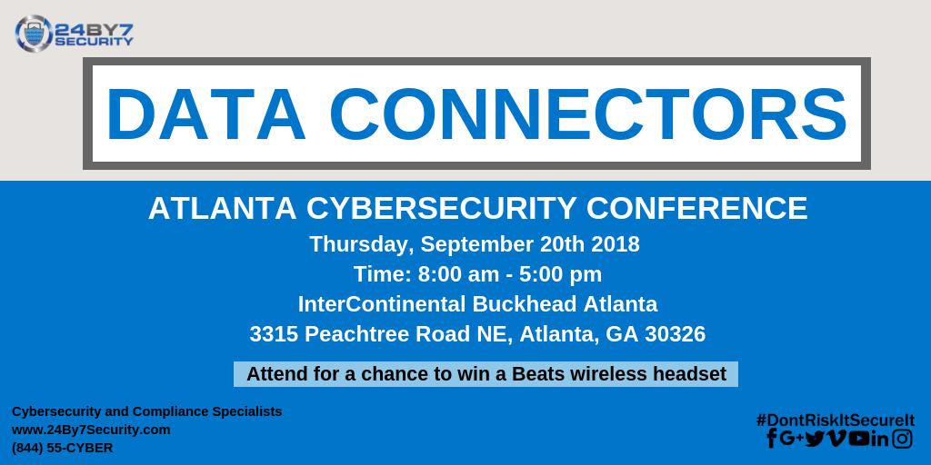 Data Connectors-Atlanta-Event-24By7Security