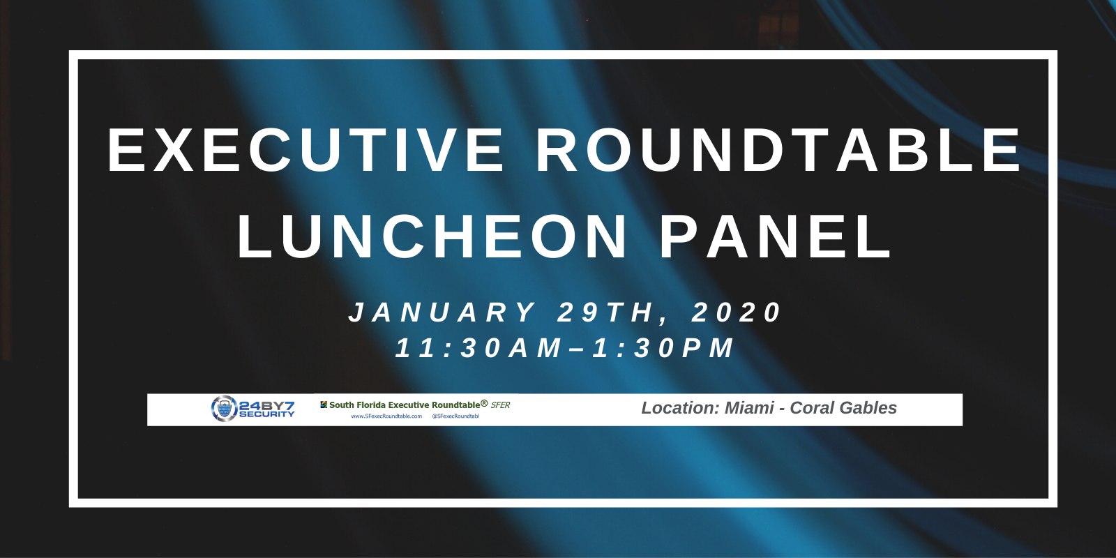 Executive Roundtable Luncheon, January, 2020