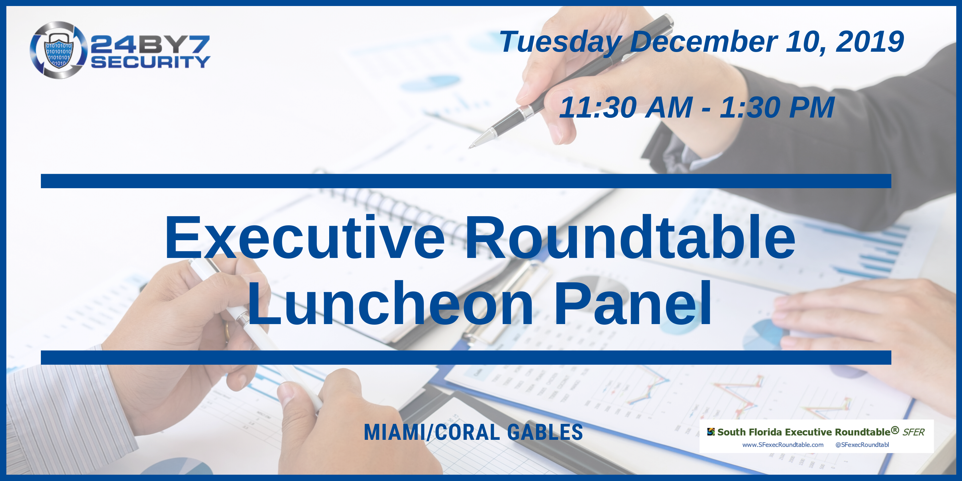 Executive roundtable, Dec