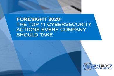 Foresight 2020 (Newsletter Edition)