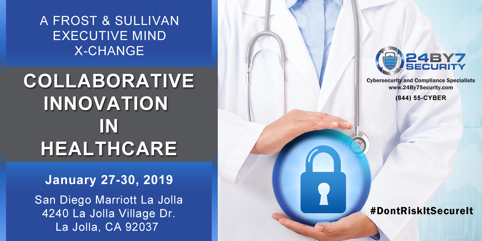 Frost and Sullivan Sanjay Deo 24By7Security Healthcare conf Jan 2019