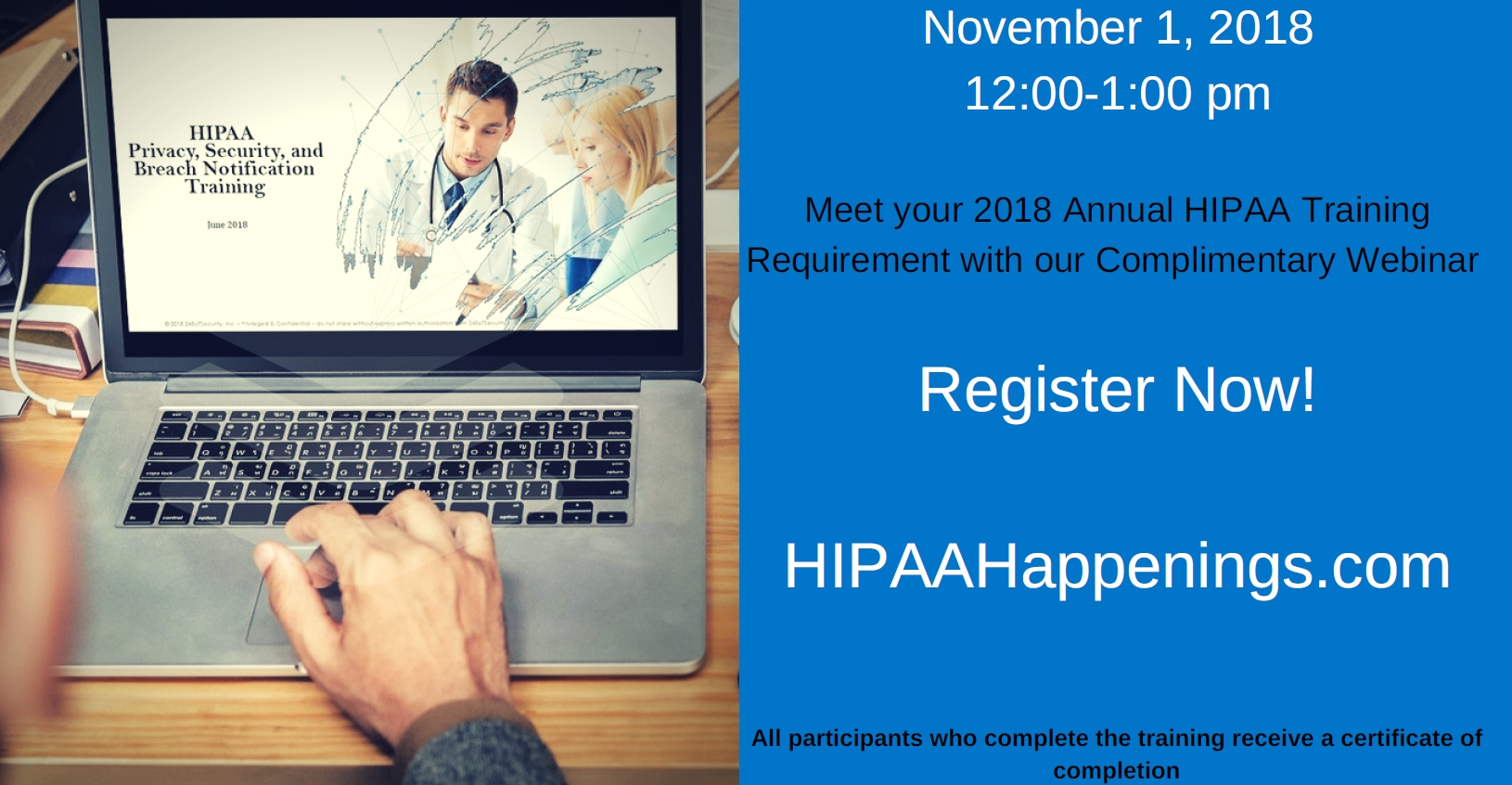 HIPAA Happenings event