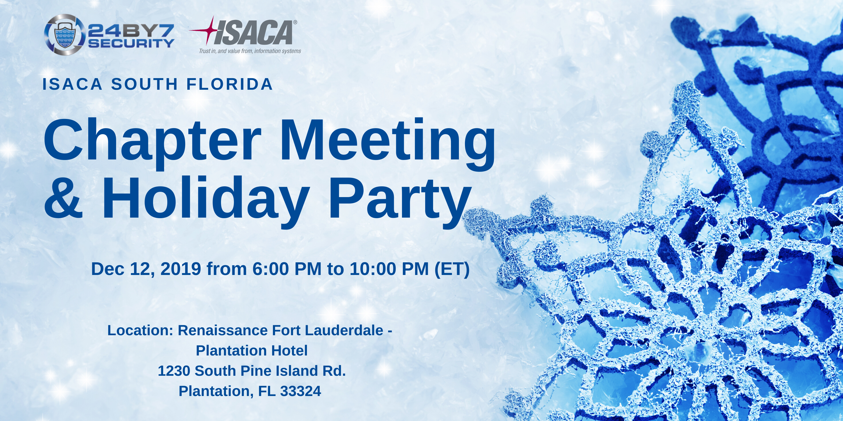 Holiday ISACA Party