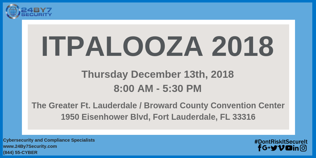 IT Palooza 2018