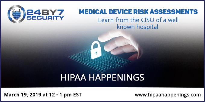 MedicalDeviceRiskAssessment Webinar 24By7Security-fb