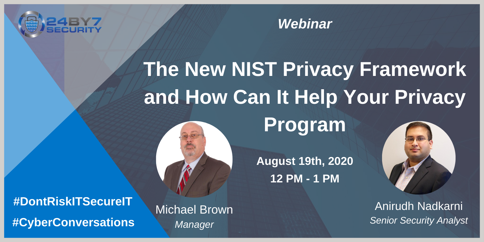 New NIST Privacy Framework, Web