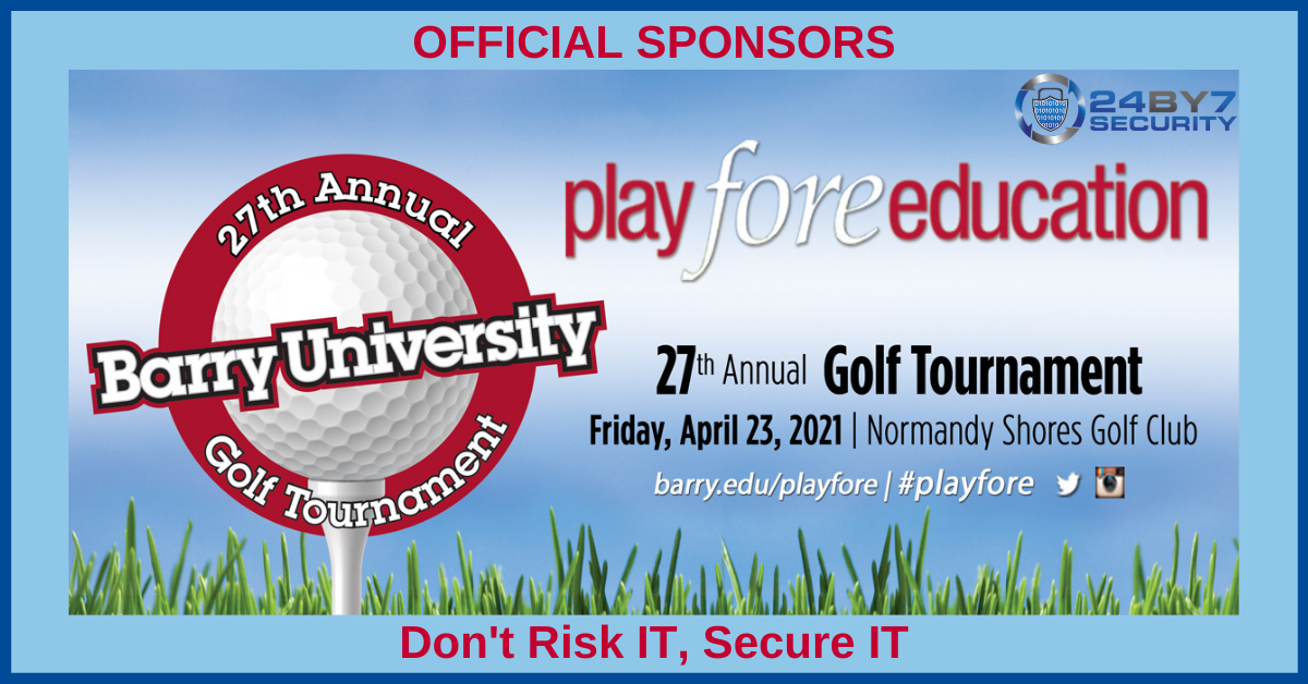Play Fore Education Sponsor Graphic
