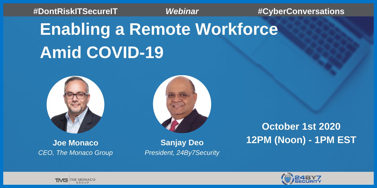 Remote Workforce COVID-19, Web-2