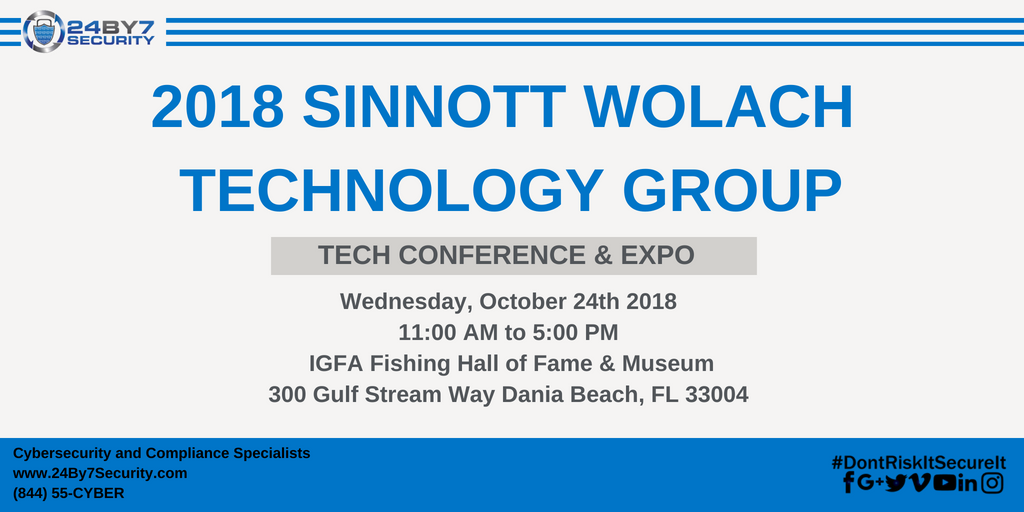 Sinnott-Wolach-Technology-conference-Expo-24By7Security
