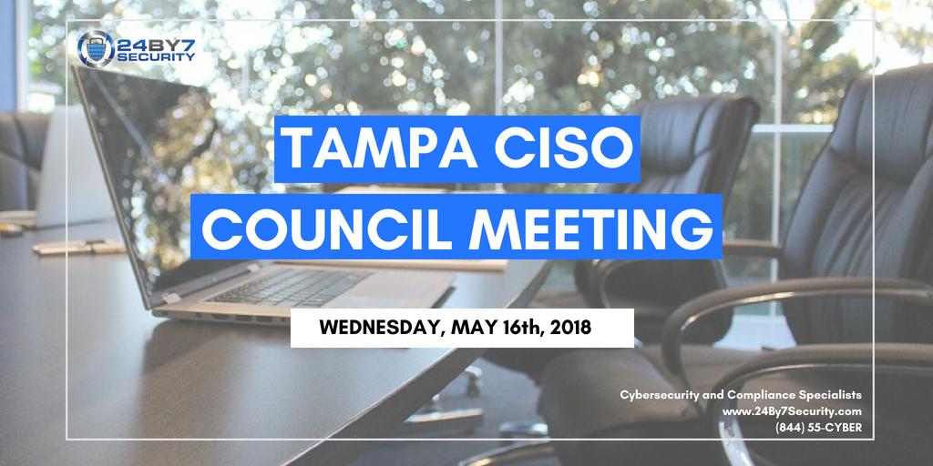 Tampa-CISO-Council-Meeting-May-16-2018