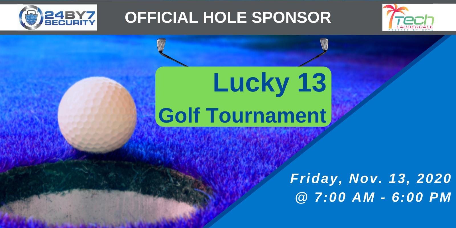 TechLauderdale Lucky 13 Golf Tournament