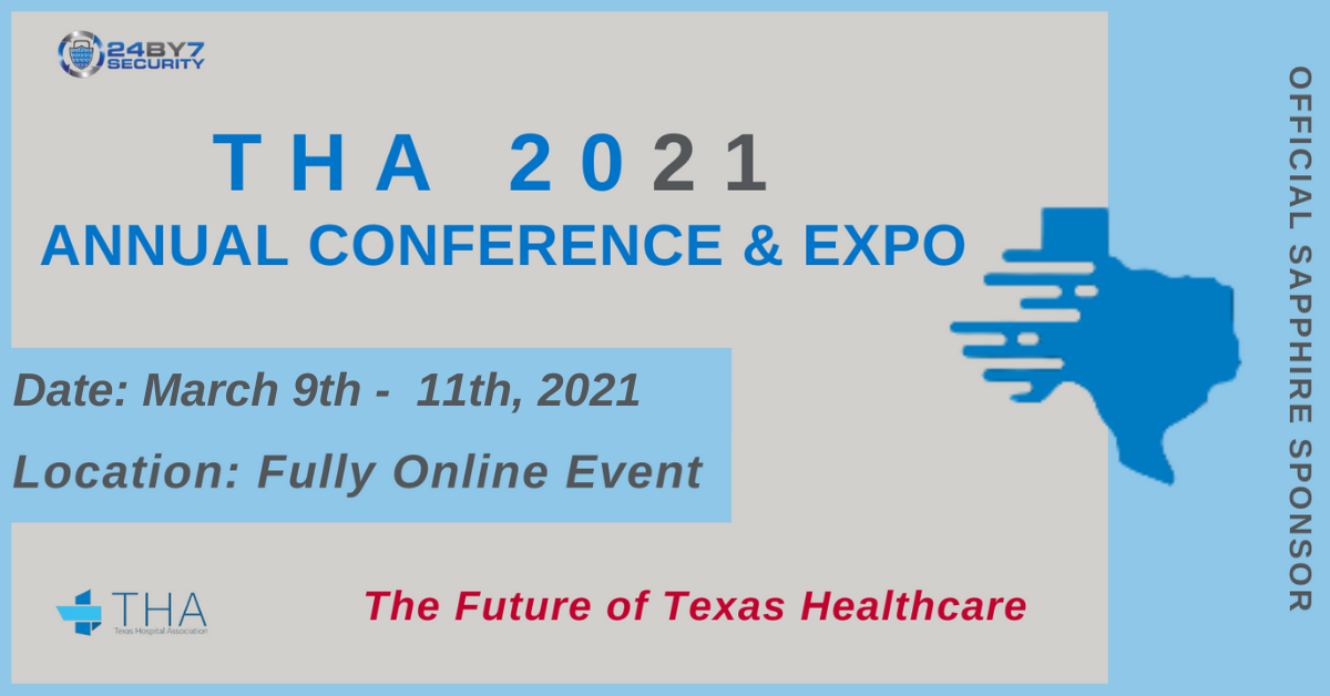 UPDATED THA Conference 2021 Graphic Healthcare Sponsor